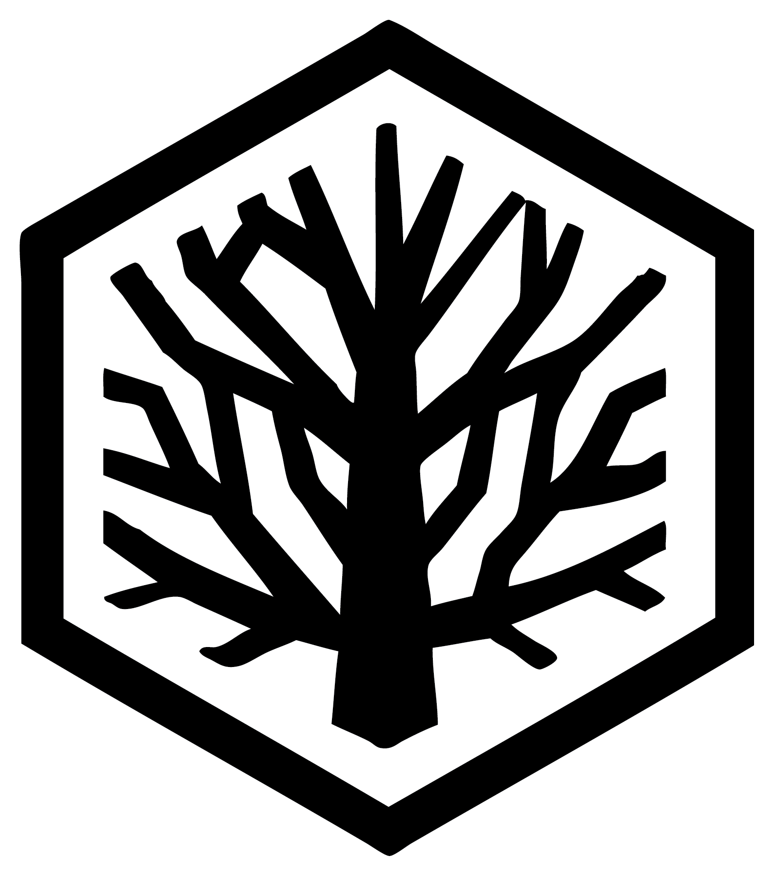 Honey tree logo